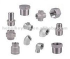 ss screwed/threaded pipe fittings.