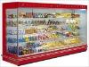 Glass Door Display Freezer for Supermarket Equipment