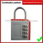 Resettable combination padlock