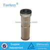 Power plant pleated air filter, pleated dust collector air filter cartridge