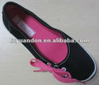 latest China canvas casual shoes for lady