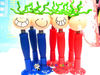 creative happy beans action doll stretchy Ball Pen