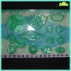 Plastic plunger cutters