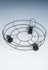 3 feet round flowerpot rack(with wheels)