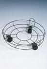 3 feet round flowerpot rack(with wheels)