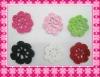 Crochet flower petals