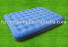 air matress with inside pump blue