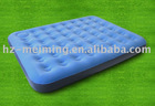 air matress with inside pump blue