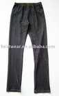 10pcs/lot 2011 new style black cotton women`s jean leggings,tight pants,basic legging Q0003