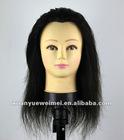 whole sale price black training mannequin head