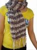Fashion Polyester Chiffon Soft Square Scarves
