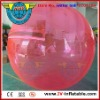 Pink color inflatable water walker ball