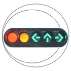 300mm R & G & Arrow LED Traffic Signal Light
