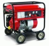 300A air cooled engine power gasoline welding generator