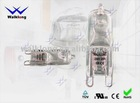 230V-240V, 25V/40V/60V,G9 Clear Halogen lamp,