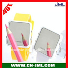 2012 New Fashion Mirror Face Silicone LED Watch