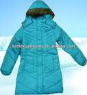 Girls designer winter jacket/ kids jacket and coats/children winter clothing