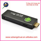 Wholesale android 4.0 mini tv box with skype