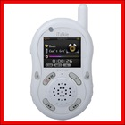 White interphone Walkie Talkie MP4 PLAYER GW-IP007