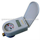 IC card perpaid contactless Cold/Hot Water Meter for measuring the volume of water