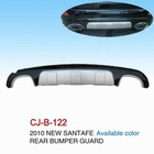 REAR BUMPER GUARD FOR HYUNDAI SANTAFE 2010 GOOD QUALITY