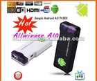 Smart Google Android 4.0 TV Box WIFI HD Player Mini PC MK802 Allwinner A10 4GB