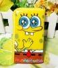 Wholesale gao hot sale sponge bob moblie phone phone MP3/MP4 Case bag F0277
