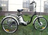 "24"" Alloy Electric Shopping Tricycle"