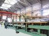 Hot-galvanized pipe production line