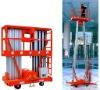 Double mast aluminum Mobile lift platform with CE