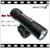 New energy-saving products! 2GB multifunctional high power MP3 player Rechargeable torch flashlight!
