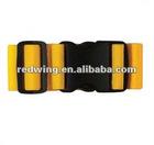 Travel adjustable luggage belt