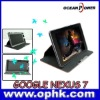 New arrive leather case for Google Nexus 7 tablet pc case