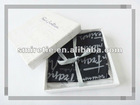 100% printed silk satin Handkerchief, gift hanky set