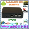 Android TV Box iTV01 Google TV box Media player + Rockchip2918 DDR3 512MB/4GB+ set top box