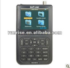 WS-6918P is a handy digital satellite meter for quick and easy alignment satellite receiver remote control codes