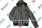 Fashion Men's Check Jacket