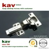 inset 35mm cup 2 way clip on soft close hinge for cabinet