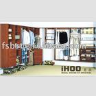 Modern Fashion Design Panel Wardrobe Closet AW11