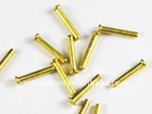 brass round head solid rivet from china supplier
