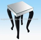 Mirror end table furniture