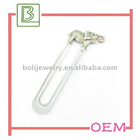 Promotional metal elephant shaped bookmarks