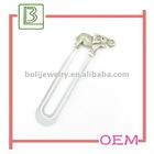 Promotional metal elephant shaped bookmarks