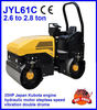 mini compactor,mini road roller,double drum JYL61C,2.6-2.8ton