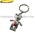 2012 cute bear metal key chain
