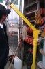 electric mini crane for lifting elevator