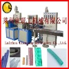 PVC plasticized-tendon spiral reinforced pipe production line