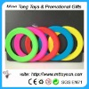 Plastic flying ring frisbee