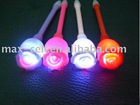 rose flower flashing led light pen