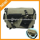 2012 New professional canvas shoulder camera bag for photographer / travel photography enthusiasts